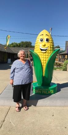 Bridget at the Corn Cob