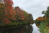 The Squamscott River in below Catherine McGinnis' home/farm in New Hampshire.