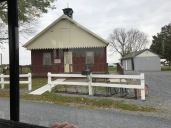 Amish one-room schoolhouse.